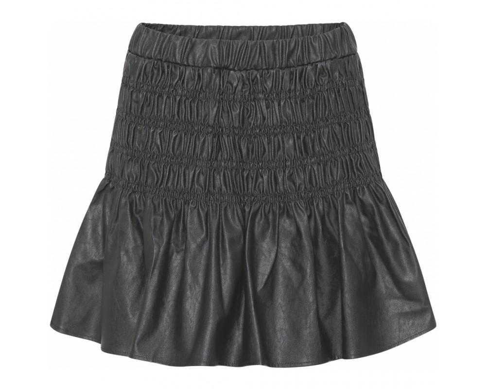 kort nederdel med smock continue