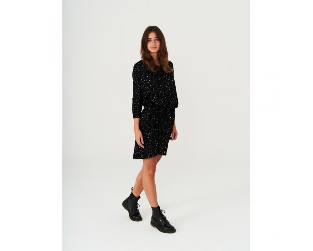 kjole sort med sølv comfy copenhagen