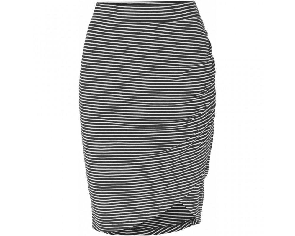 kort stribet nederdel comfy copenhagen