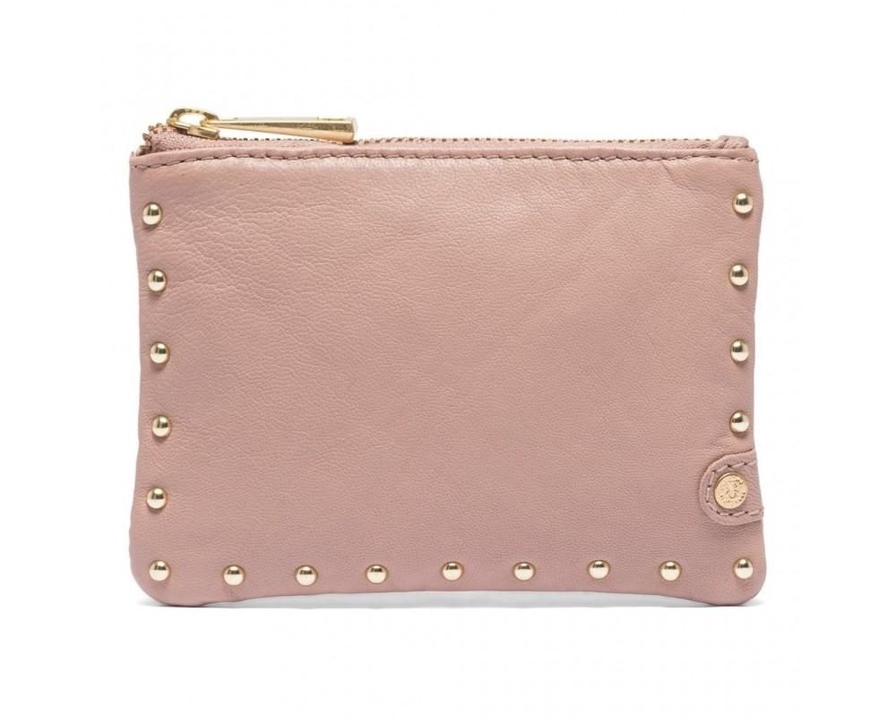 kreditkortholder med nitter rosa depeche