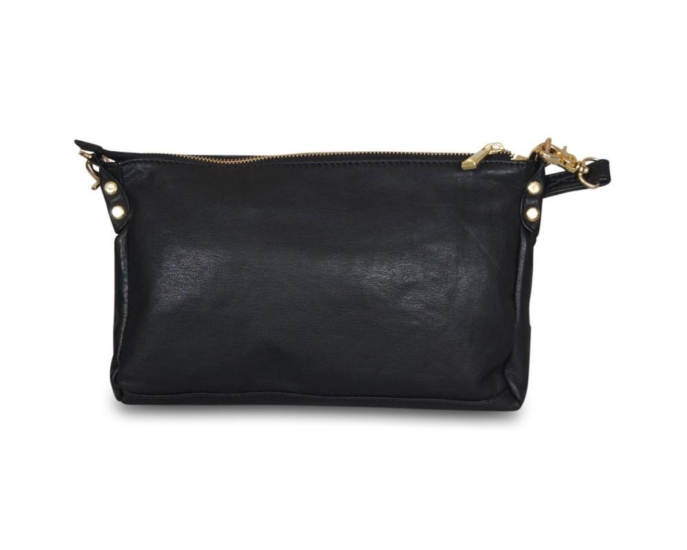 Depeche Small bag/clutch med nitter Gold-31
