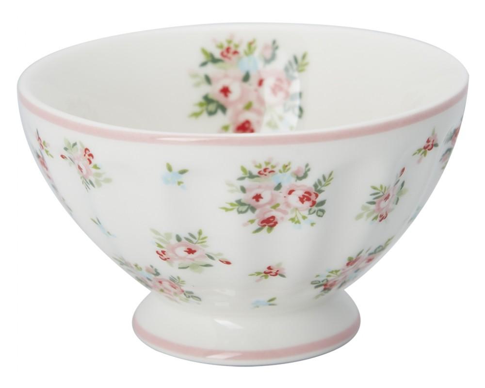 GreenGate Mid Season 2020 Abigail white french bowl
