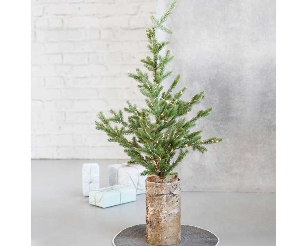 Juletræ med batteridrrevne julelys fra House Doctor JT0202 209320202