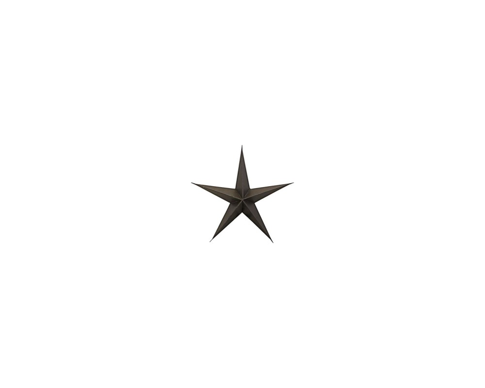 House Doctor ornament star brown