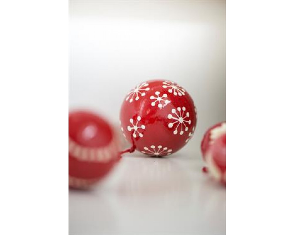 Ib Laursen Julekugle mellem snekrystal-31