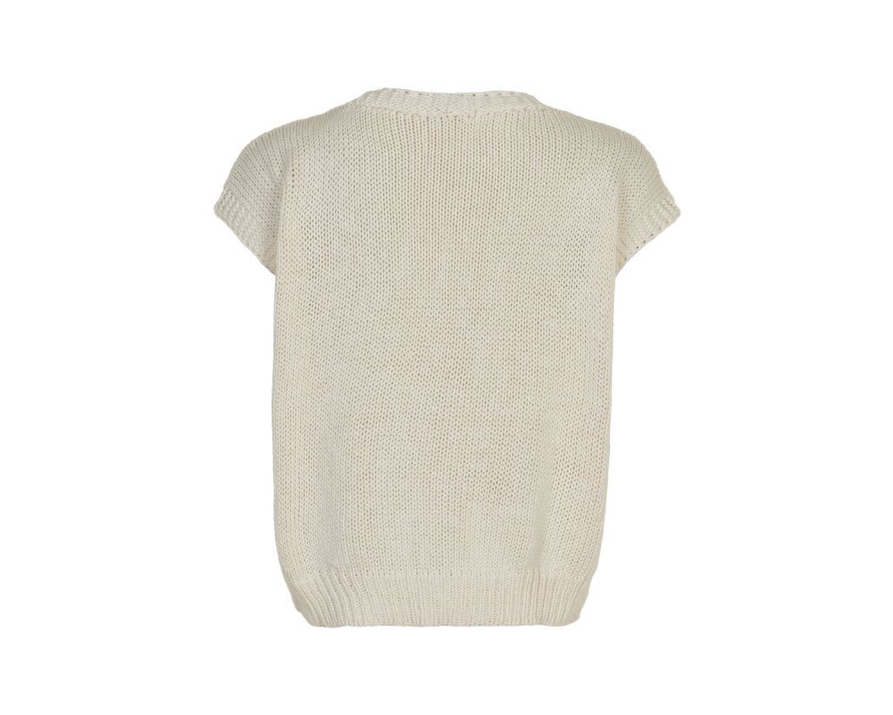 strikvest off white in front