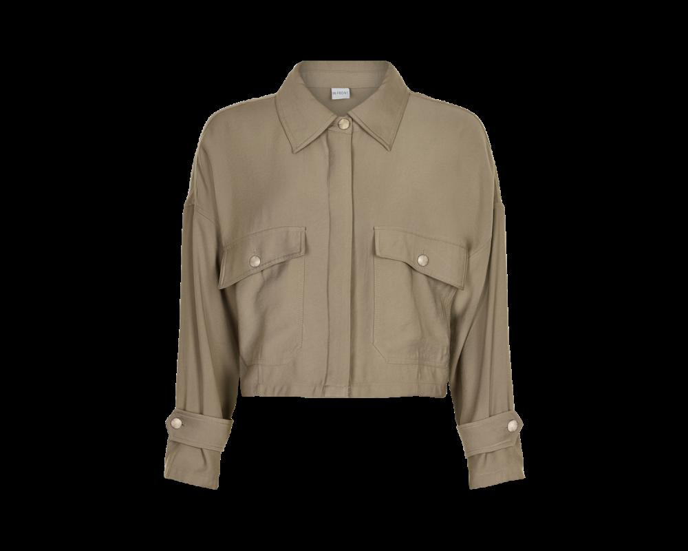 in Front casual jakke