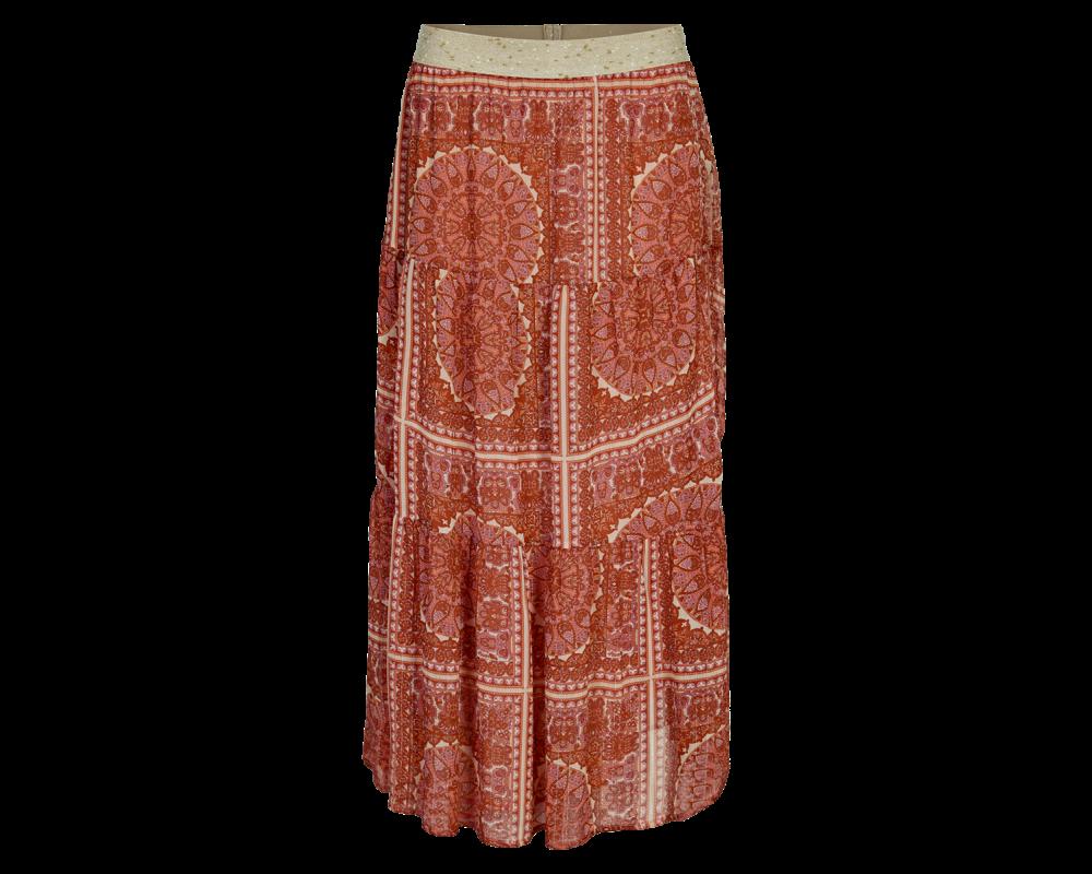 lang nederdel in front