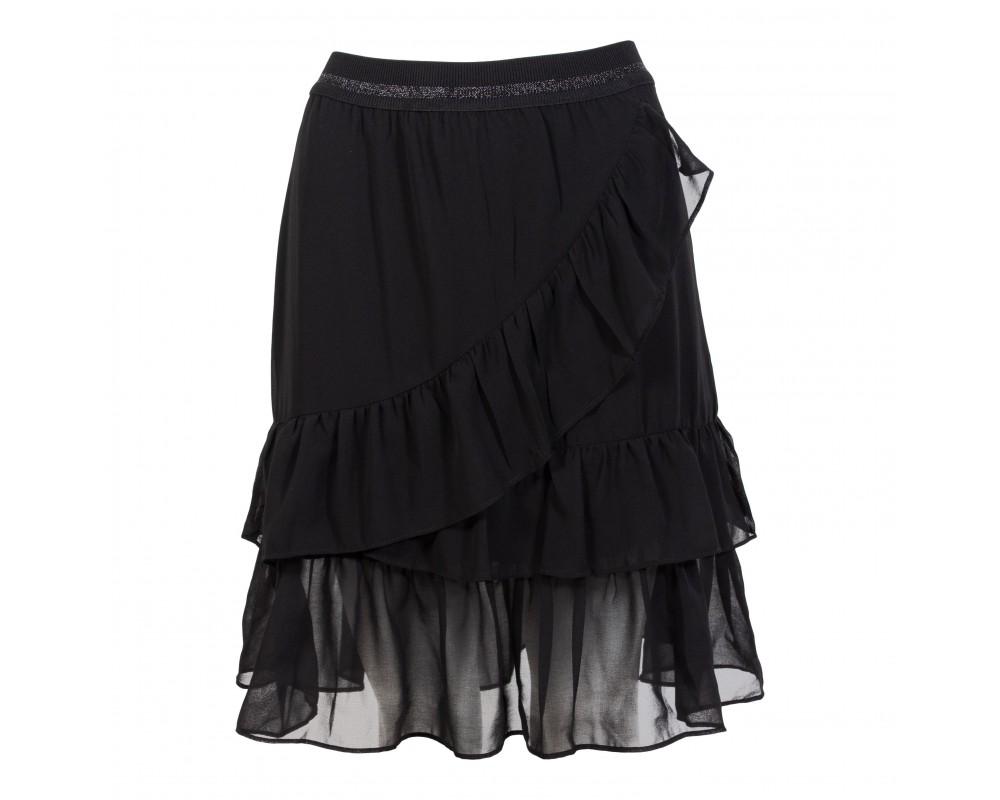 iN FRONT nederdel Sort