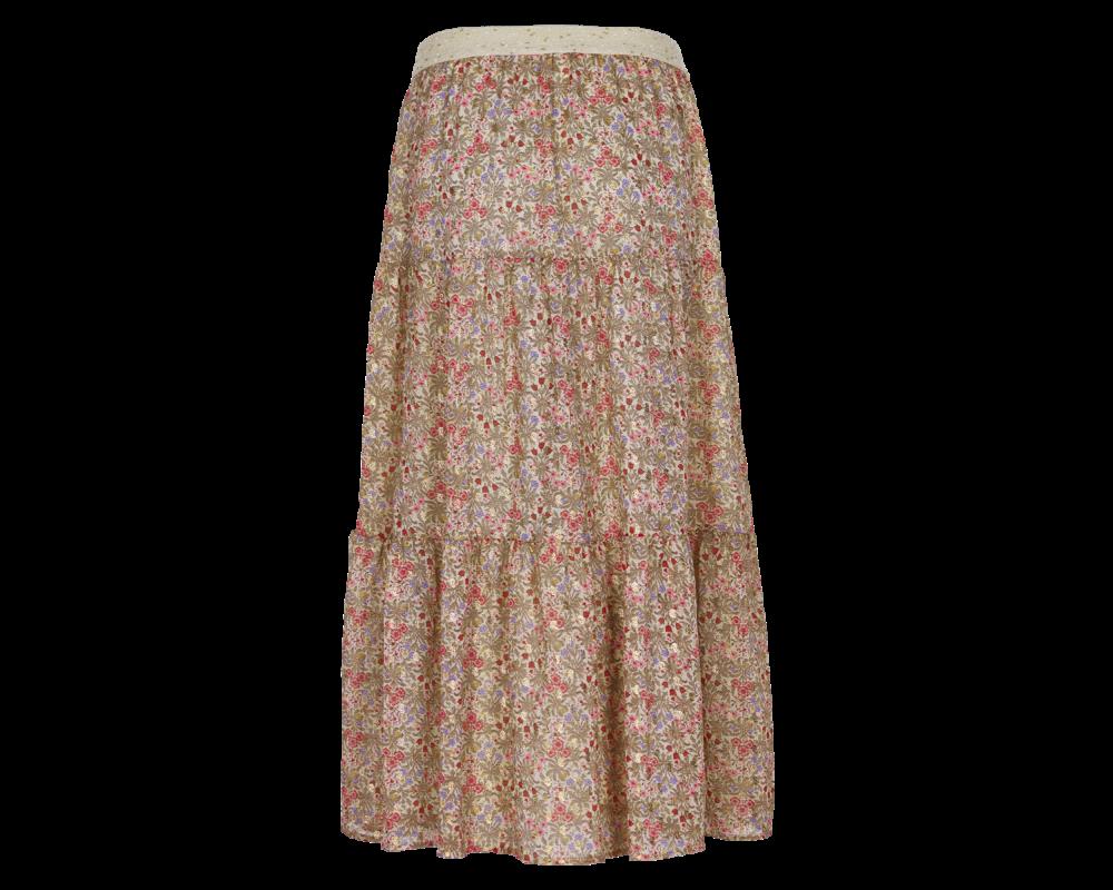 blomstret nederdel in front