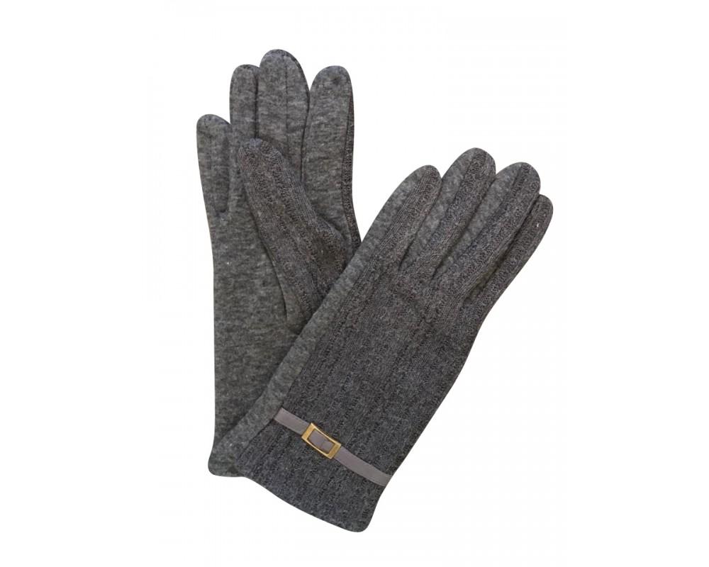 just d'lux handsker grå