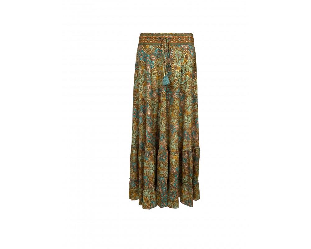lang nederdel maxi skirt black colour
