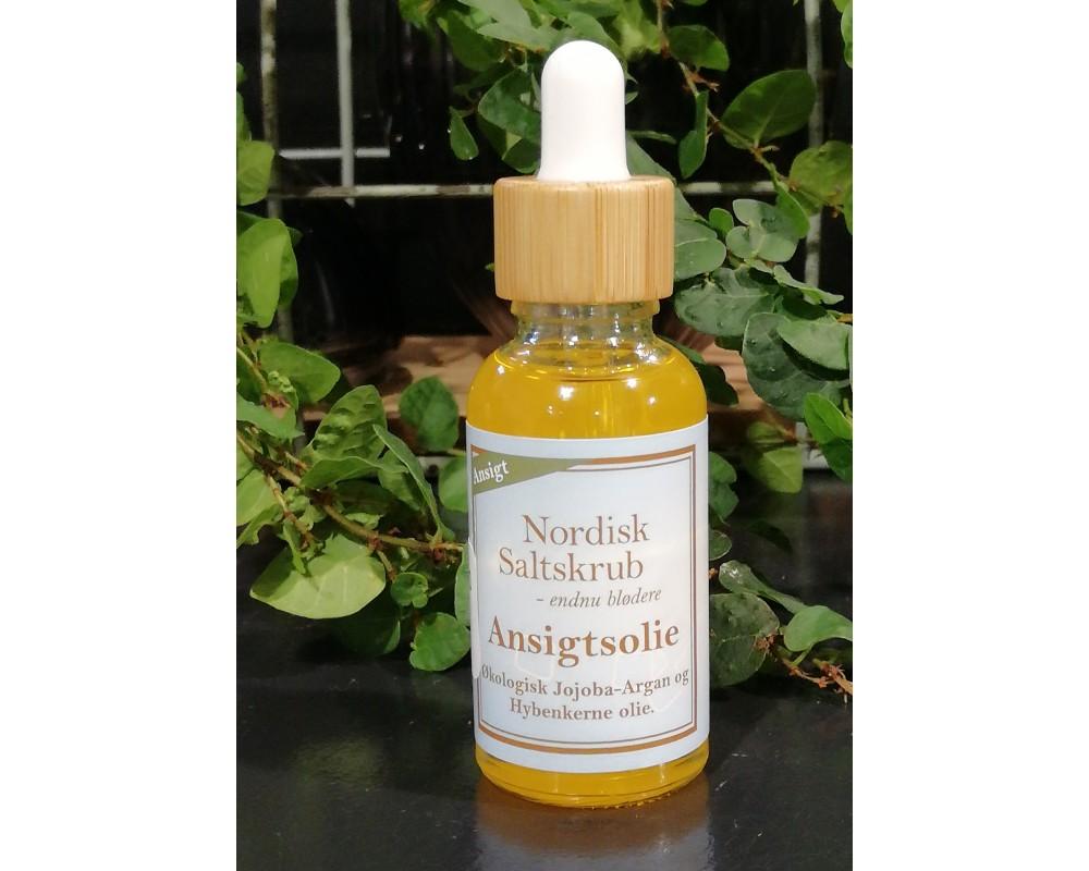Nordisk Saltskrub Ansigtsolie Hybenkerneolie-31
