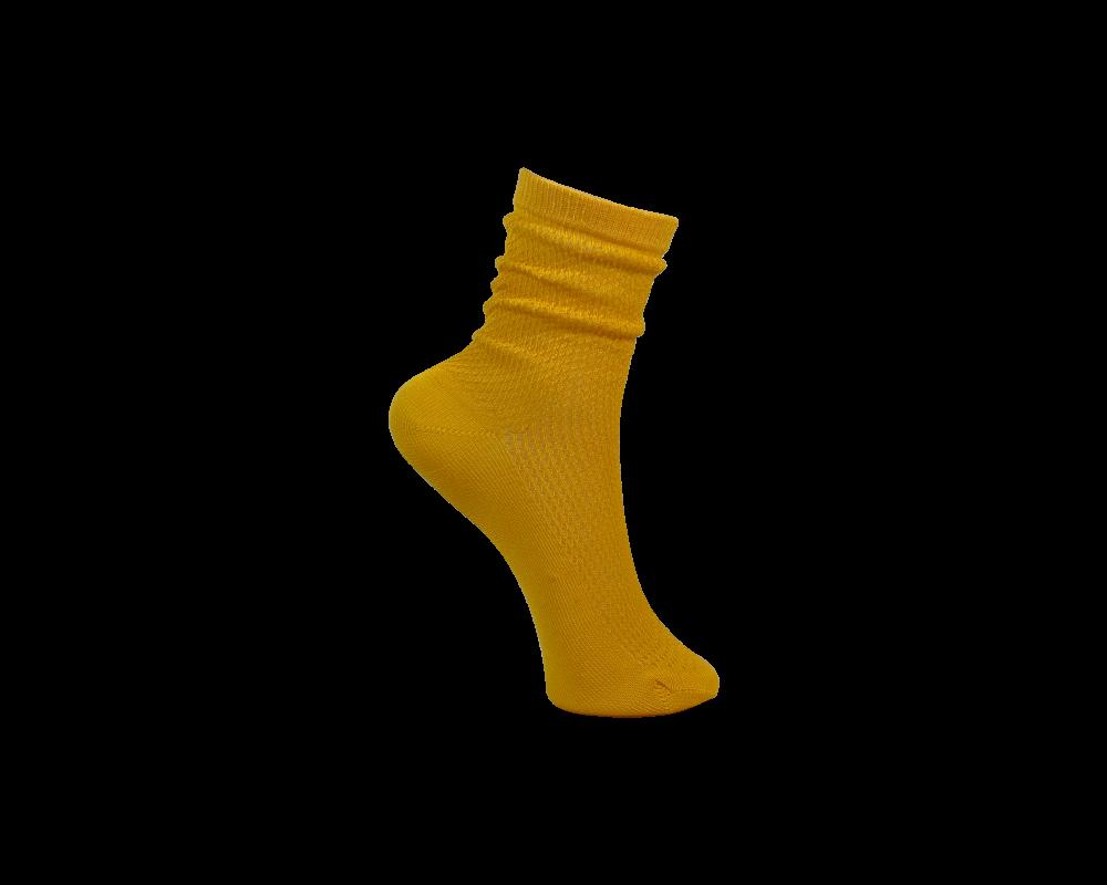 Black colour strømpe gul