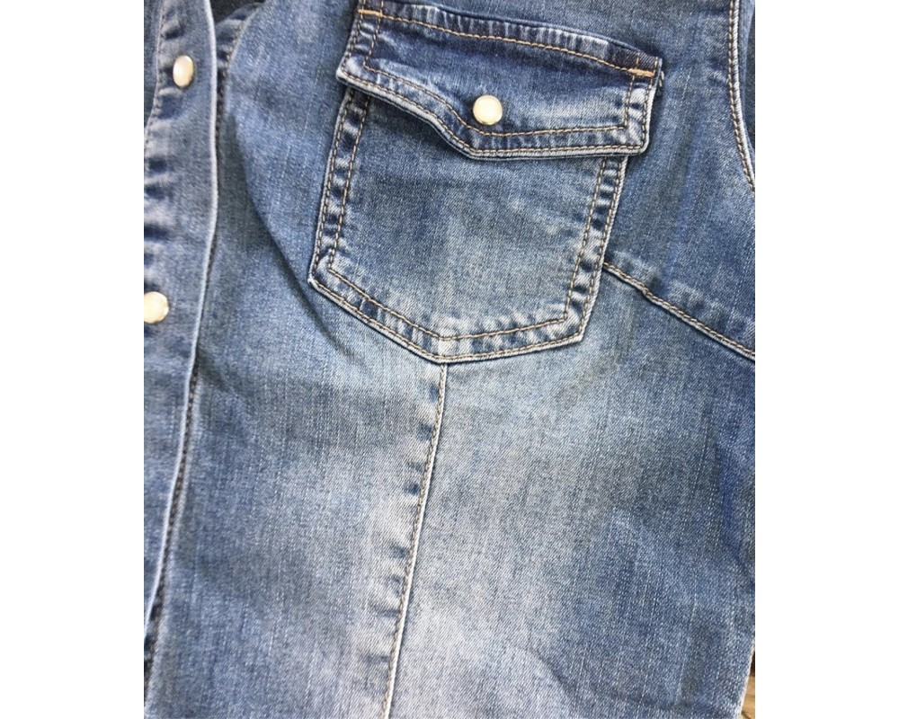 denim skjorte piro