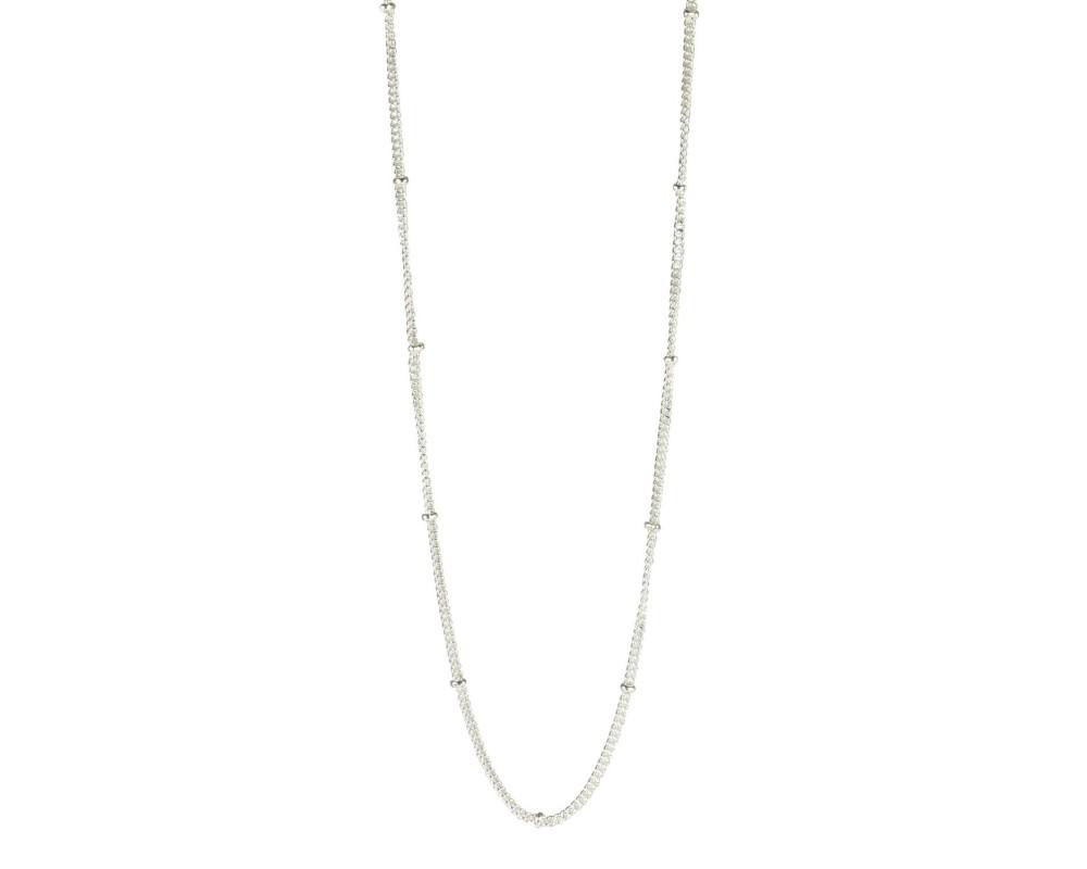 kort halskæde sølv pure by nat