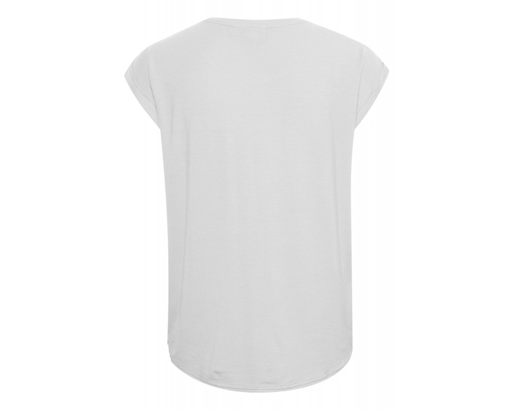 hvid dame t-shirt saint tropez