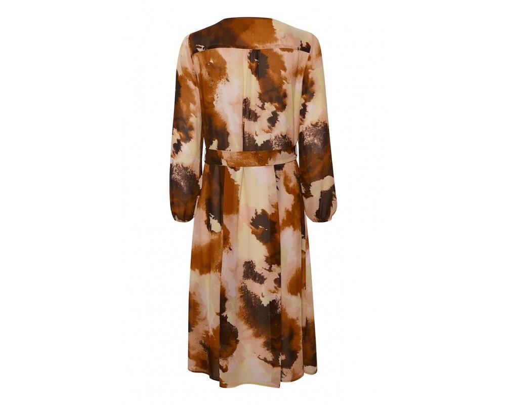 kjole brændte farver saint tropez