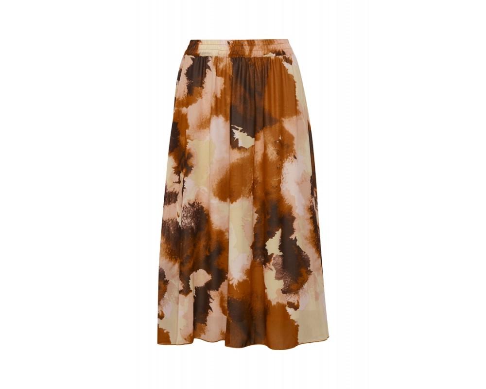 lang nederdel brændte farver saint tropez