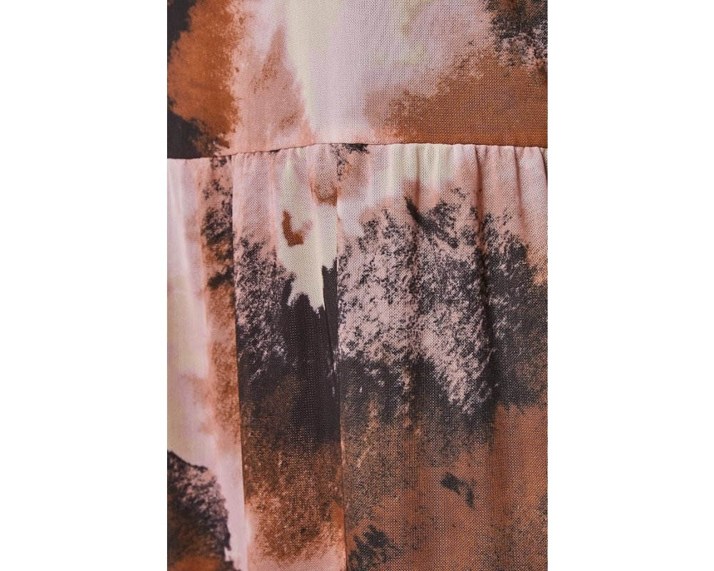 meshkjole brændte farver saint tropez