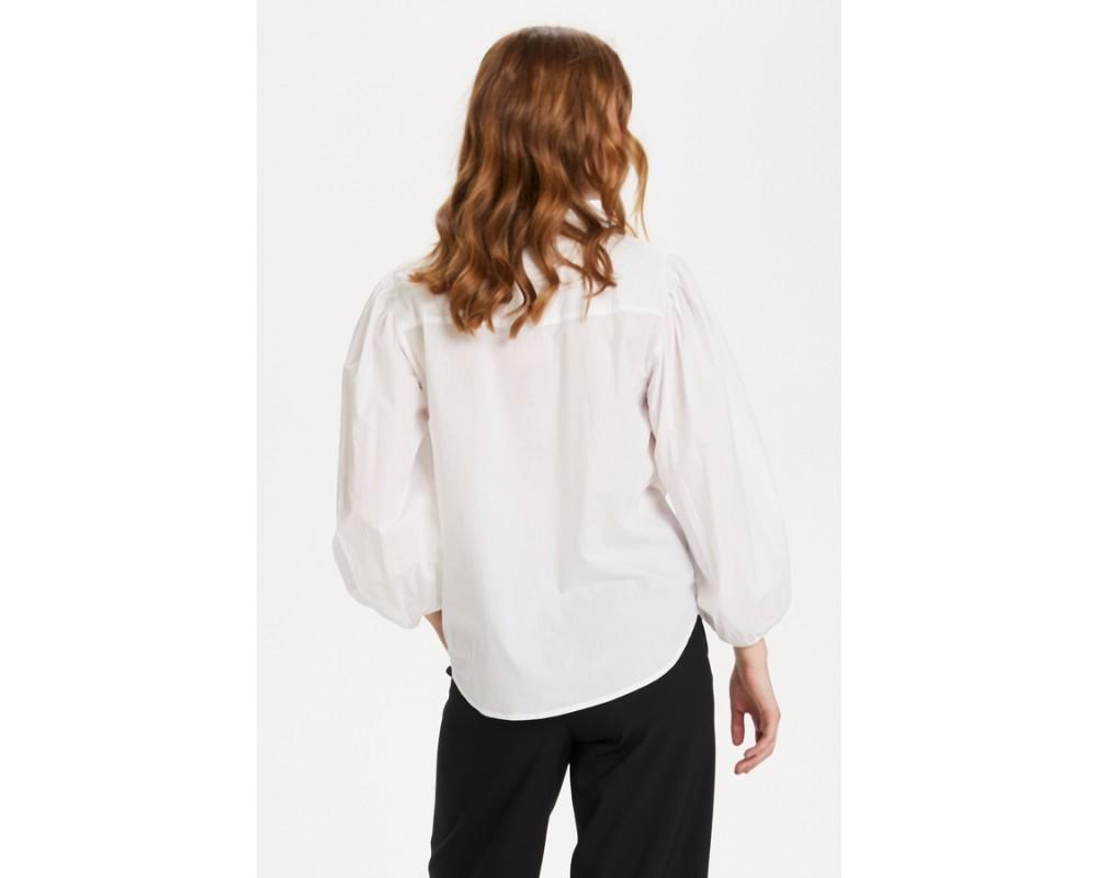 hvid dameskjorte saint tropez