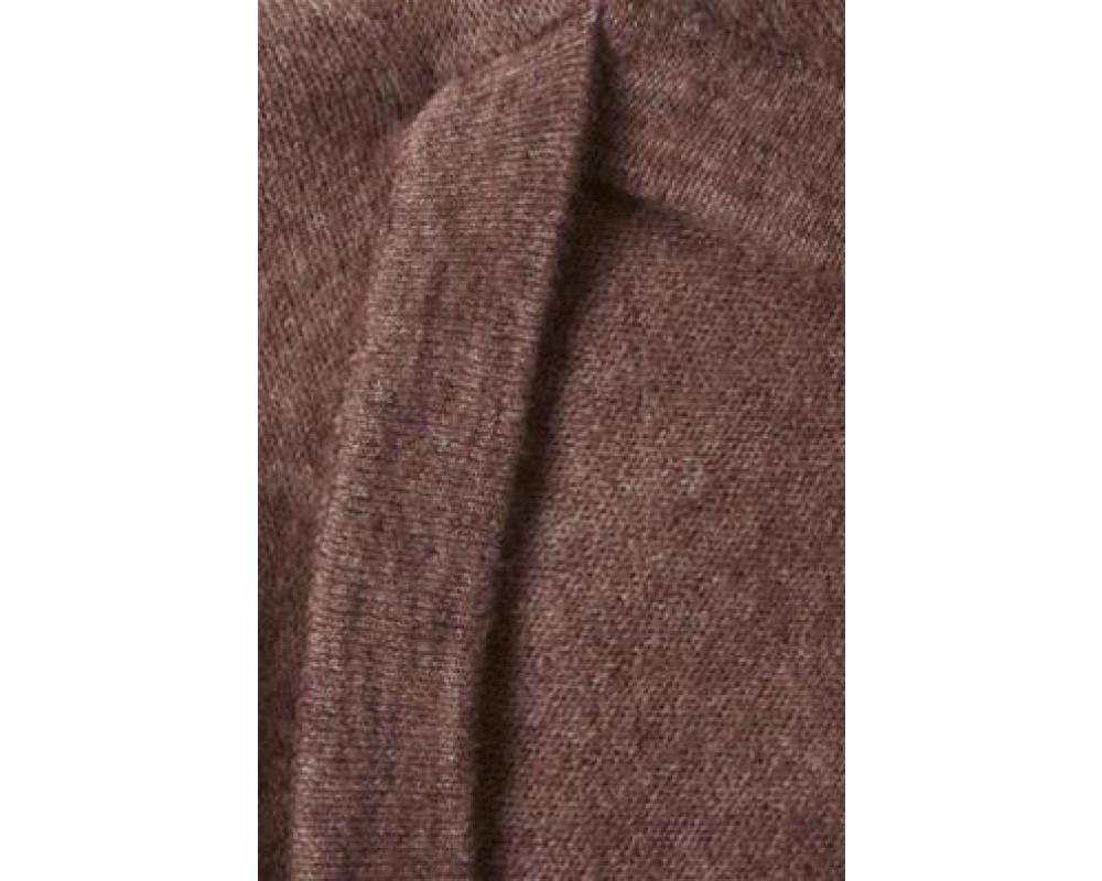 pullover m. v-hals lavendel saint tropez