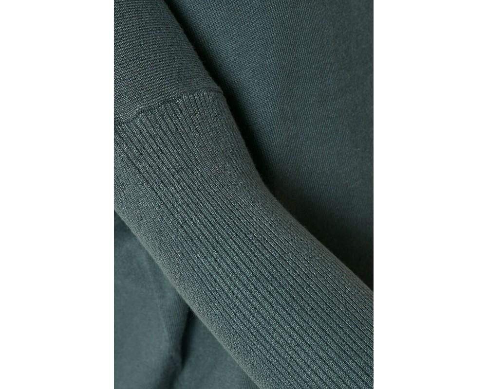 strik pullover blå saint tropez