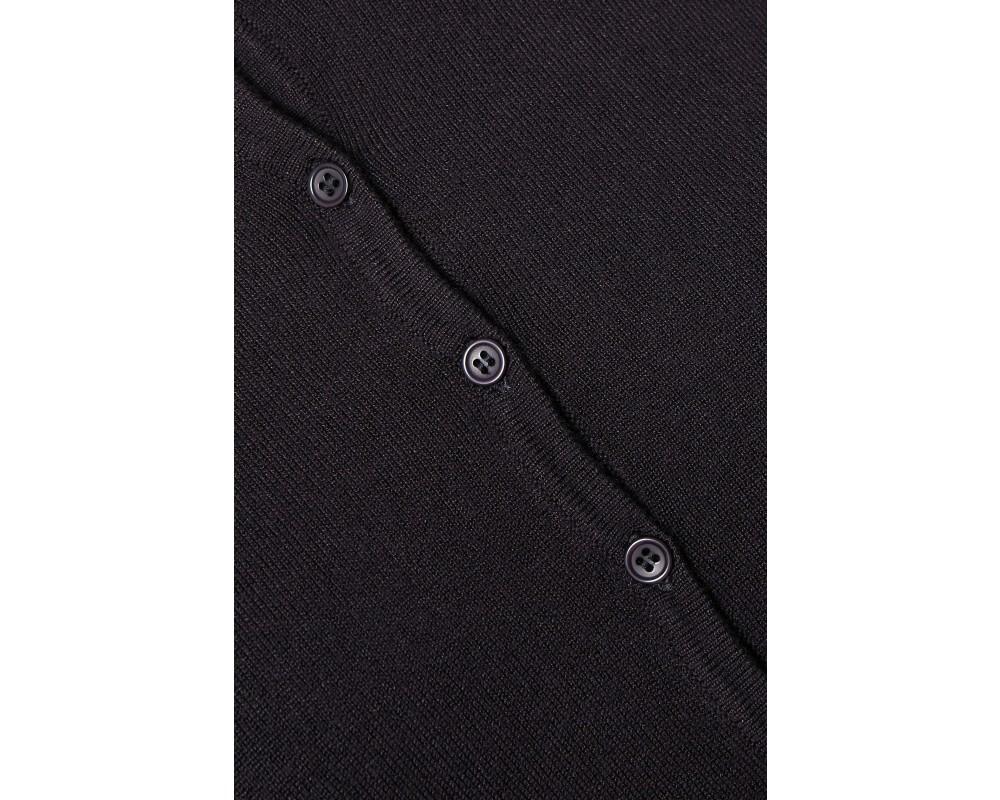 strik cardigan mørkeblå saint tropez