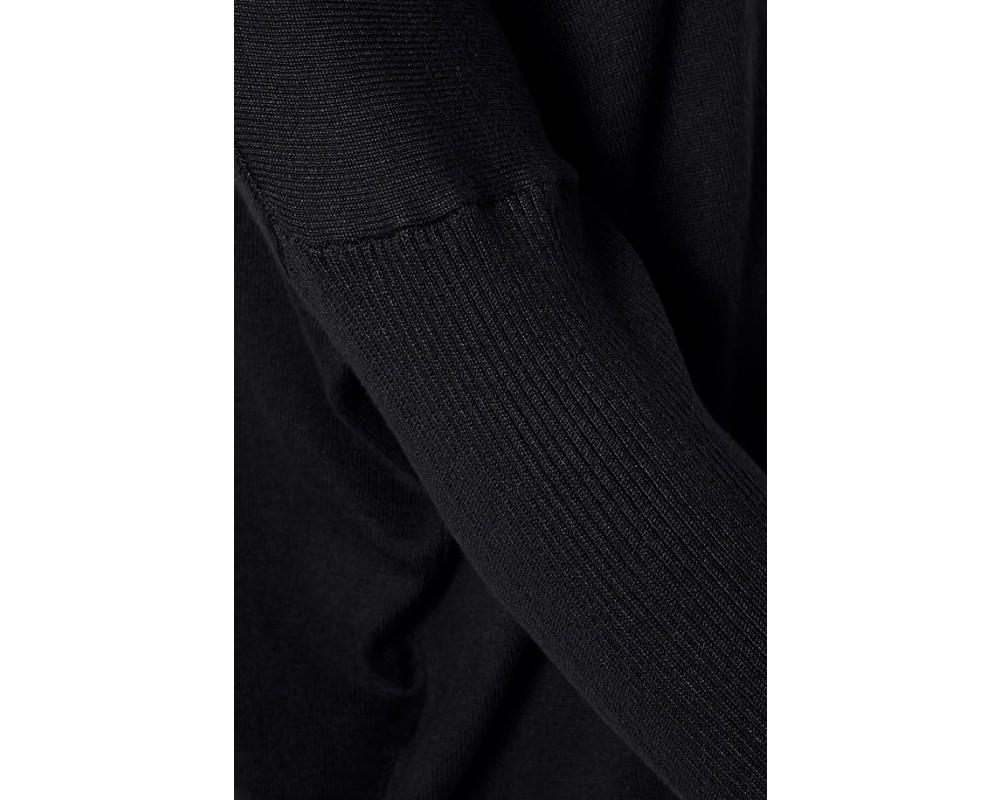 strik pullover sort Saint tropez