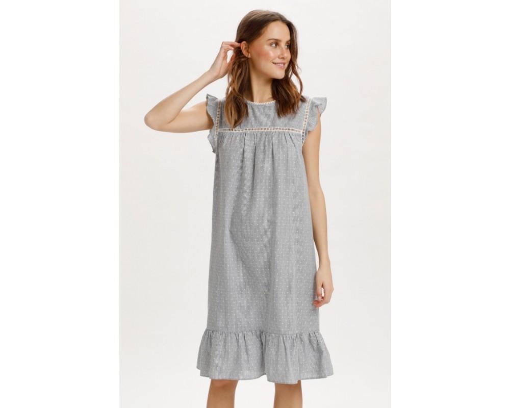 stribet kjort kjole saint tropez