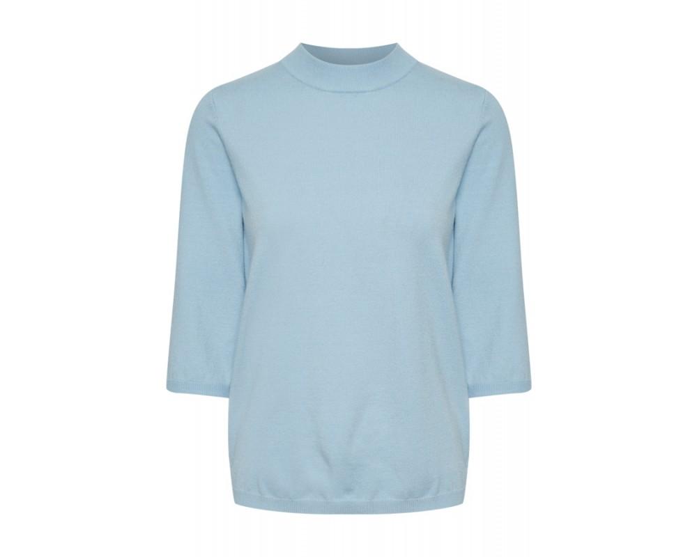 dame pullover lys blå saint tropez