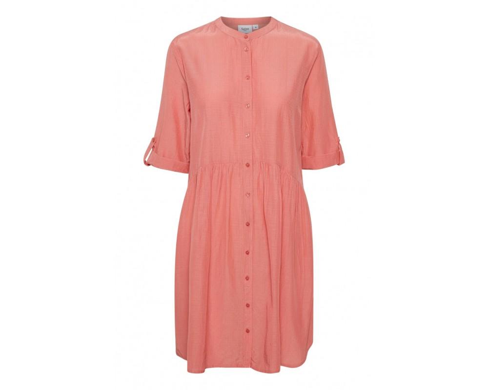 kort kjole koral saint tropez