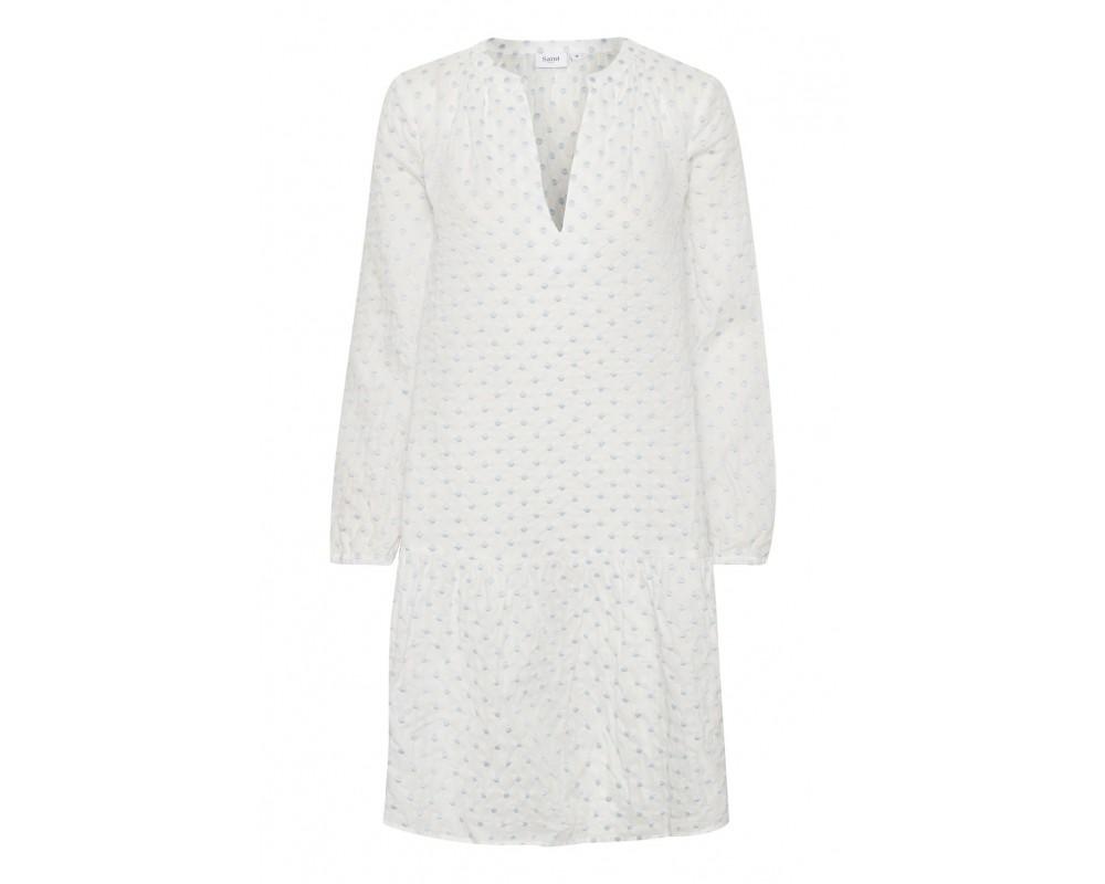 hvid kort kjole saint tropez