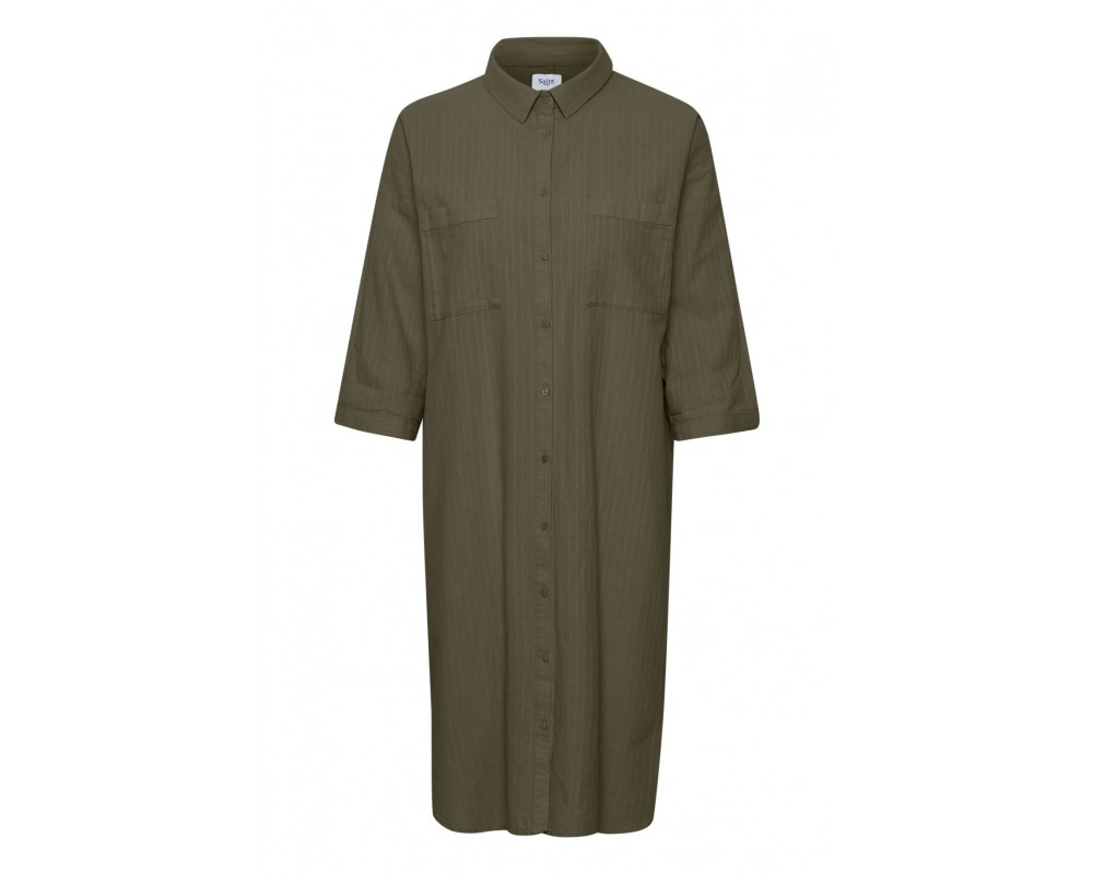 skjorte kjole army saint tropez
