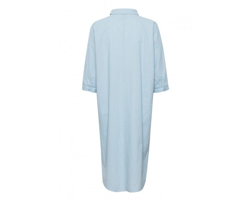 skjorte kjole blå saint tropez