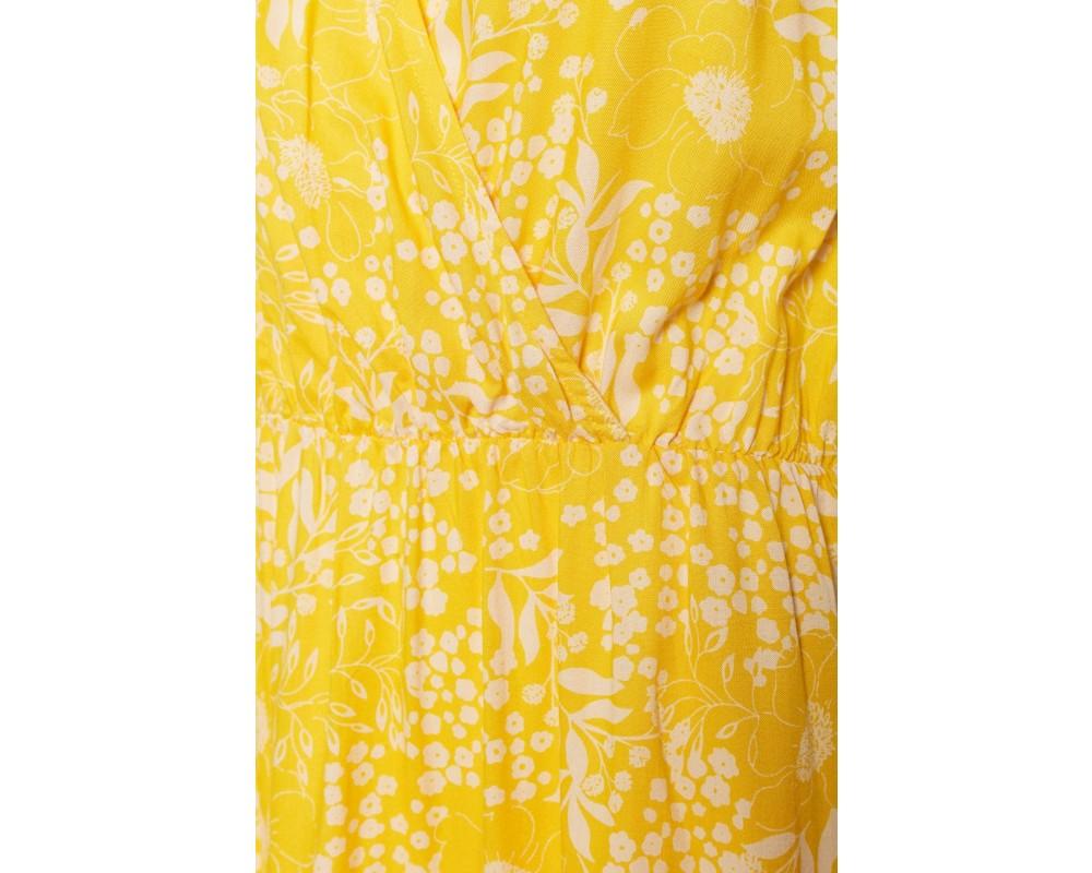 sommer kjole gul saint tropez