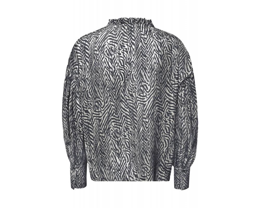 bluse zebraprint saint tropez