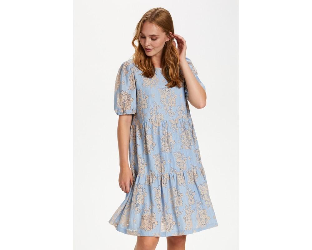 kort lys blå kjole saint tropez