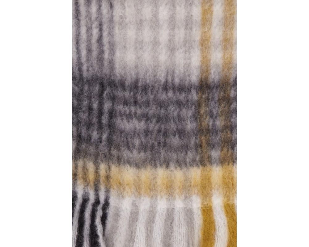 ternet tørklæde grå saint tropez