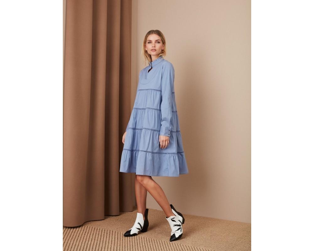 sofie schnoor kjole blå mali