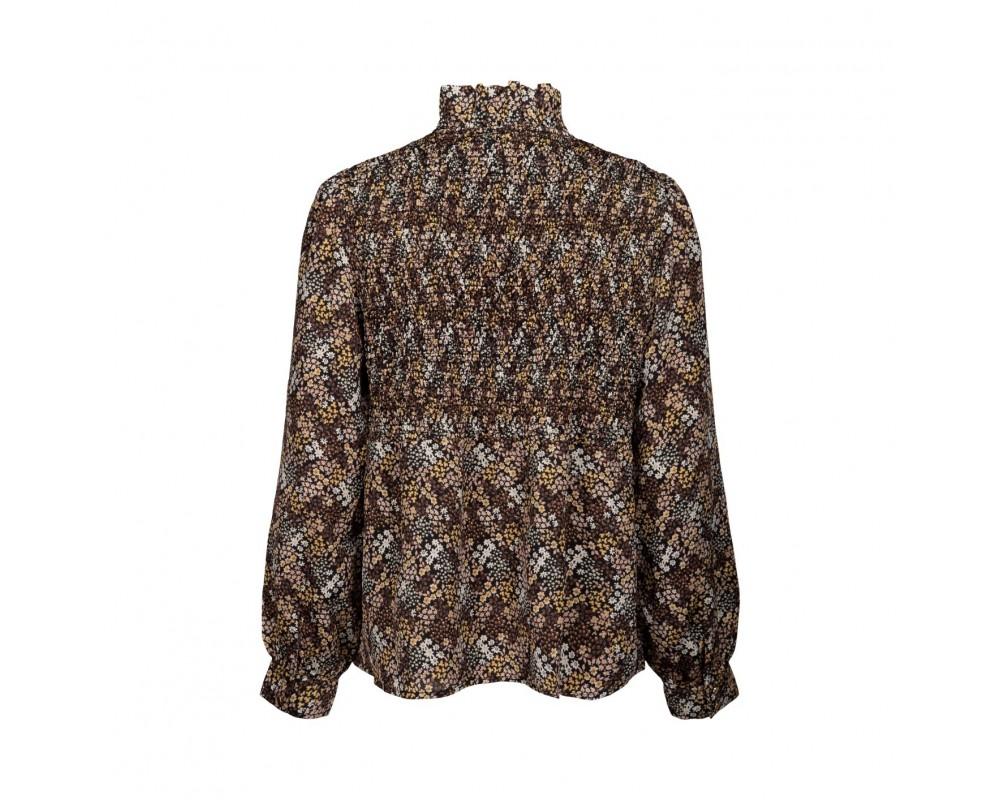 bluse med smock sofie schnoor