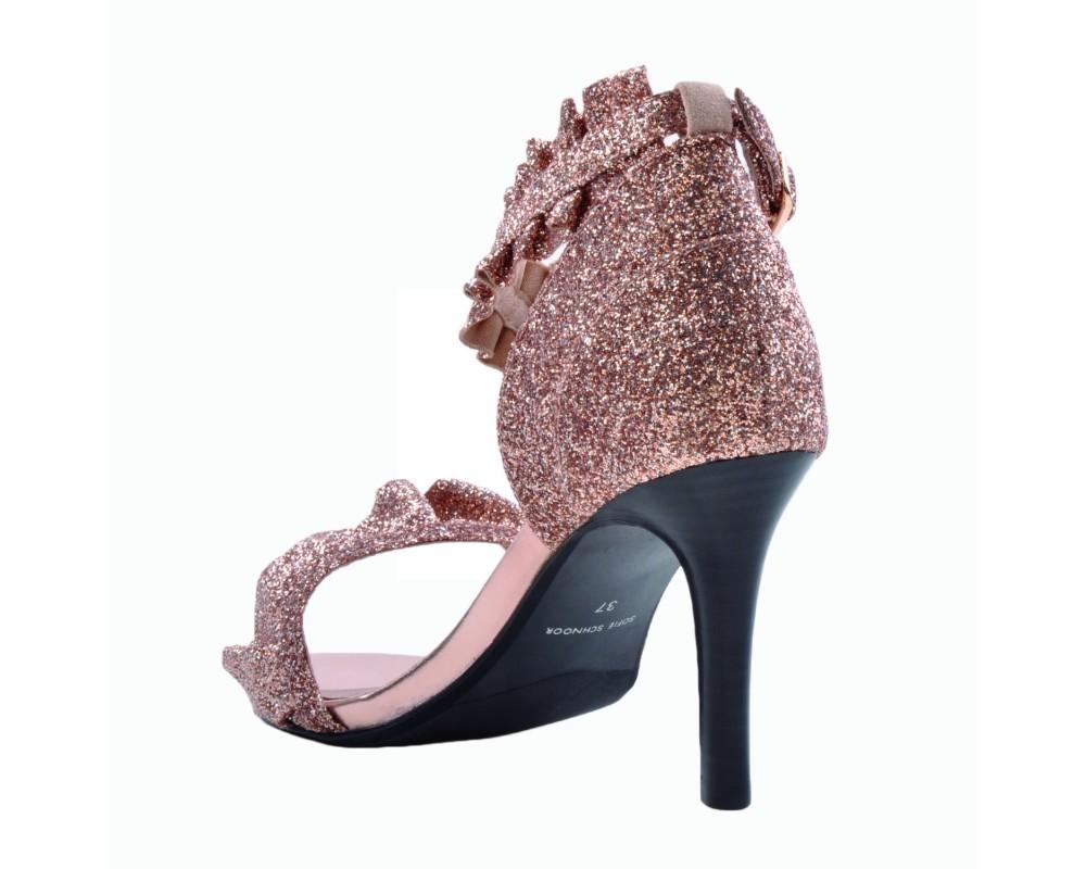 Sofie Schnoor høj glitter sandal