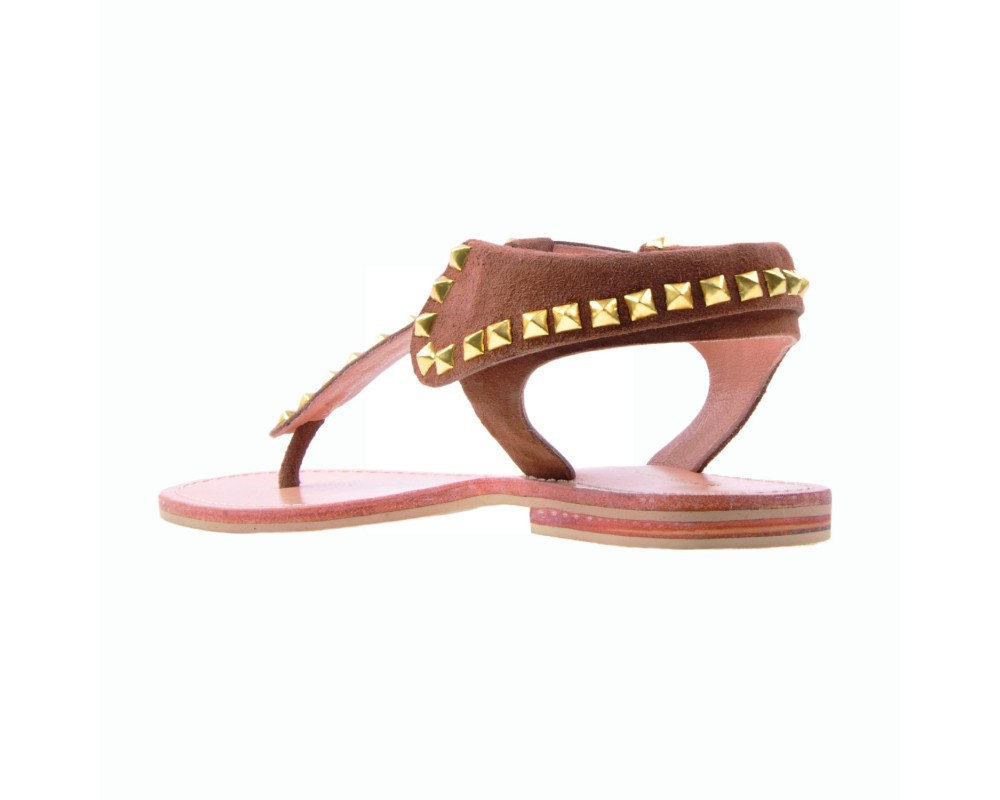 Sofie Schnoor flad sandal brun