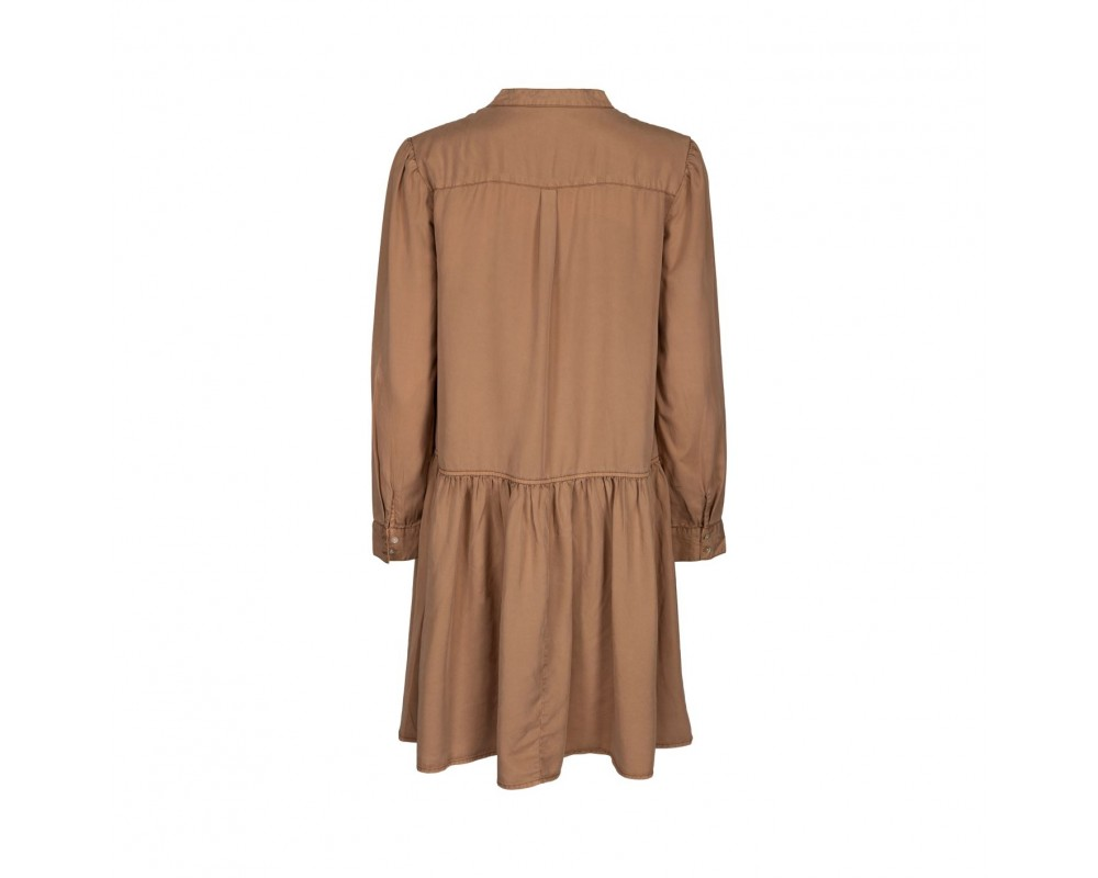 kort kjole brun sofie schnoor