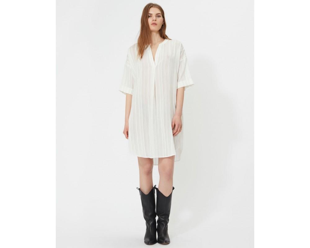 hvid lang skjorte sofie schnoor