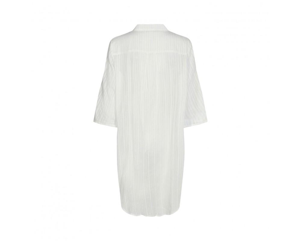 lang skjorte hvid sofie schnoor