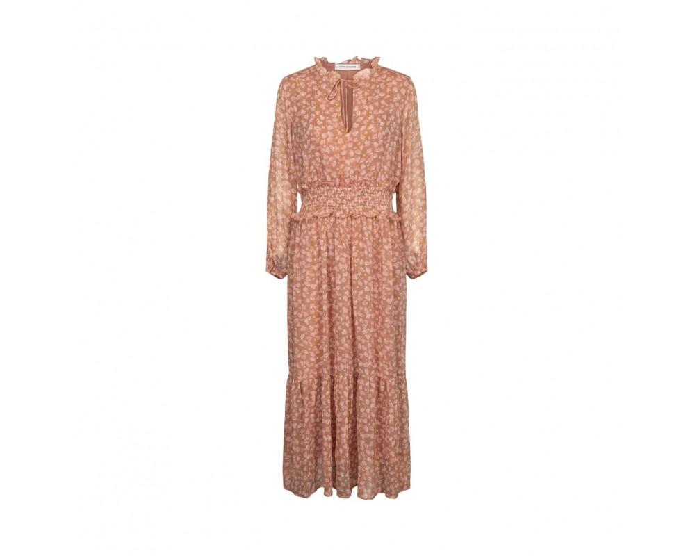 maxi kjole camel sofie schnoor