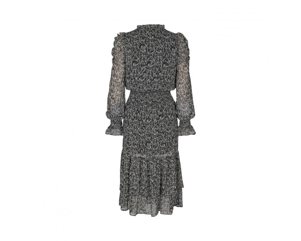sort grå kjole sofie schnoor