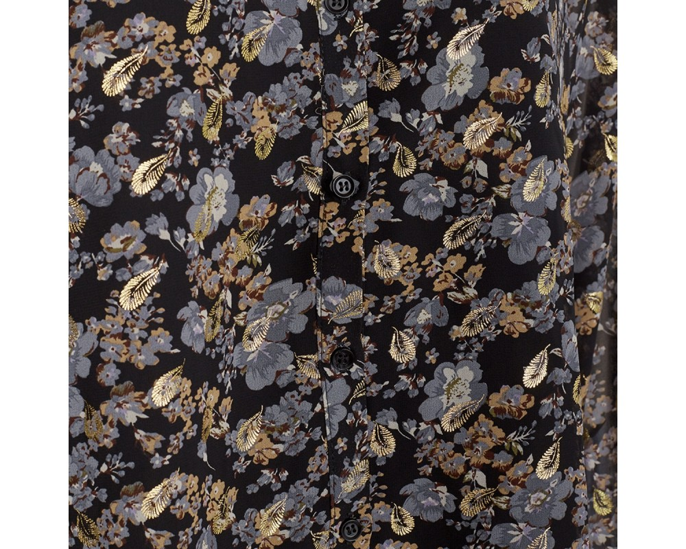 skjortebluse med blomsterprint sofie schnoor