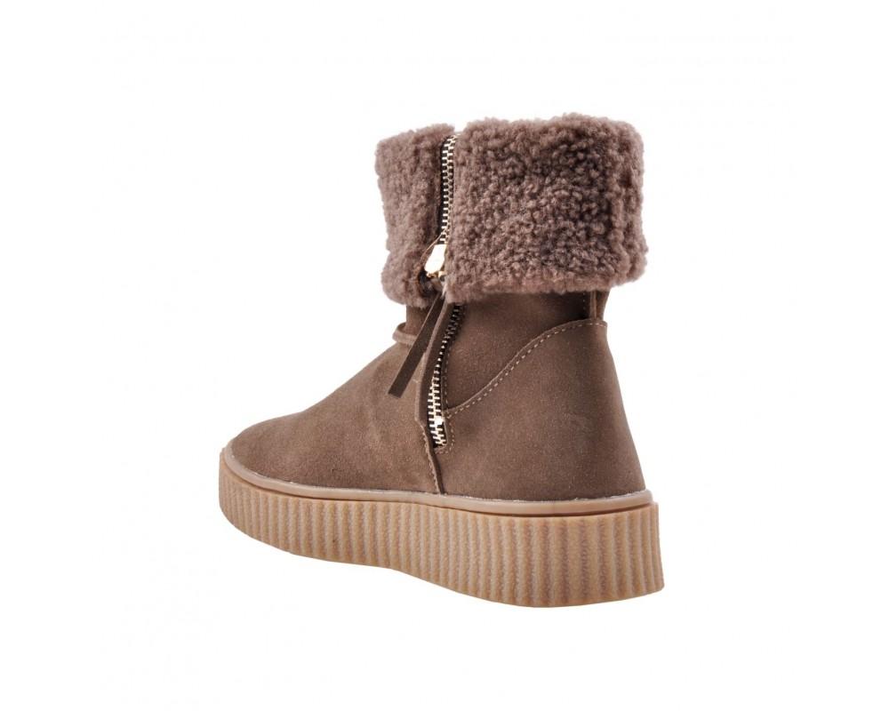 vinter støvle brun sofie schnoor